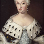Martinus Rorbye - Ulrika Eleonora dy (1688-1741), Queen of Sweden, married to King Fredrik I