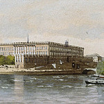 Lotten Ronquist - View of the Royal Palace, Stockholm