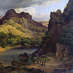 Theodor Leopold Weller - Mountain lake