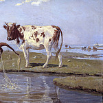 Scarsellino (Ippolito Scarsella) - Cows on Saltholm