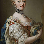 Ulrika Fredrika Pasch - Sofia Magdalena (1746-1813), Queen of Sweden Princess of Denmark [Attributed]