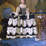 Johan Rohde - The Dowager Queen Lovisa Ulrika of Sweden