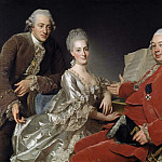 Hyacinthe Rigaud - John Jennings Esq., his Brother and Sister-in-Law