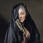 Johan Gustaf Sandberg - The Lady with the Veil