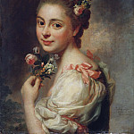 Portrait of the Artist's Wife Marie Suzanne, née Giroust