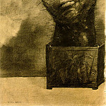 Odilon Redon - Redon Cactus man, 1881, Charcoal, 49.5x32.5 The Woodner Fami