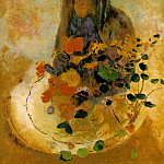 Odilon Redon - Redon Mystery, undated Oil on canvas, 73 x 53.9 cm The Phi