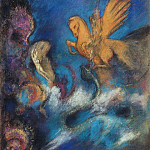 Odilon Redon - Perseus and Andromeda