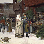 Petrus van Regemorter - The Christmas Fair