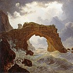 Peter Von Hess - Arco di Miseno at Miliscola