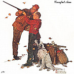 Norman Rockwell - zFox_10_NR_02_Careful_Aim