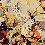 Norman Rockwell - Winchester_Stagecoach
