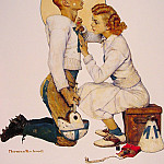 Norman Rockwell - The_football_Hero
