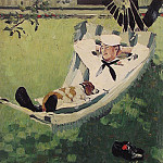 Norman Rockwell - Study_for_home_on_Leave
