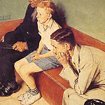 Norman Rockwell - The_Waiting_Room