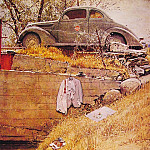 Norman Rockwell - The_Swimming_Hole