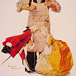 Norman Rockwell - The_Puppeteer