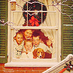 Norman Rockwell - Oh_boy_Its_Pop_with_A_new_Plymouth