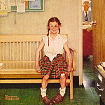 Norman Rockwell - Girl_with_Black_Eye