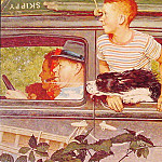 Norman Rockwell - Going_and_Coming
