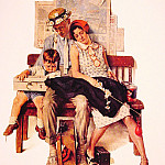 Norman Rockwell - Family_Home_From_Vacation