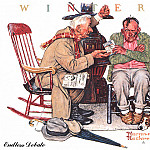 Norman Rockwell - zFox_12_NR_02_Endless_Debate