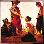 Norman Rockwell - Cousin_Reginald_Plays_Pirate