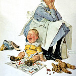Norman Rockwell - NR-NANNY