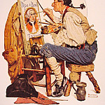 Norman Rockwell - Pipe_and_Bowl