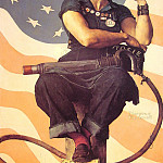 Norman Rockwell - Rosie_the_Riveter
