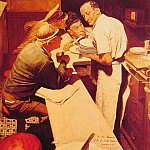 Norman Rockwell - War_News