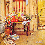Norman Rockwell - Spring_Flowers