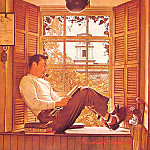 Norman Rockwell - Willie_Gillis_in_College