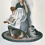 Norman Rockwell - NR-BROOM