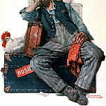 Norman Rockwell - NR-RUSH
