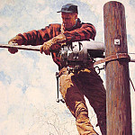 Norman Rockwell - The_Lineman