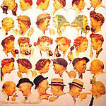 Norman Rockwell - The_Gossips