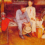 Norman Rockwell - Breaking_Home_Ties
