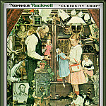 Norman Rockwell - Curiosity Shop