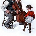 Norman Rockwell - NR-CELLO