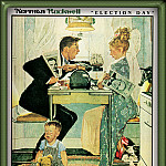 Norman Rockwell - Election Day
