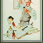 Norman Rockwell - The Drugist