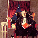 Norman Rockwell - Man_Seated_by_Radiator
