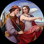 Carl Blechen - Tobias and the Angel