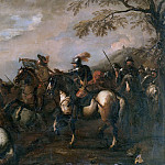 Salvator Rosa - Battle