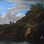 Giovanni Francesco Romanelli - Landscape with Water [Manner of]