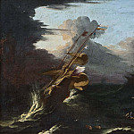 Johan Gustaf Sandberg - Ships in a Gale [Manner of]