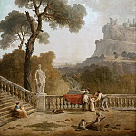 Hubert Robert - View from a Terrace