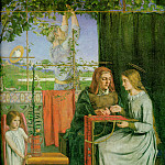 Dante Gabriel Rossetti - The_Childhood_of_the_Virgin
