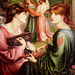 Dante Gabriel Rossetti - The_Bower_Meadow